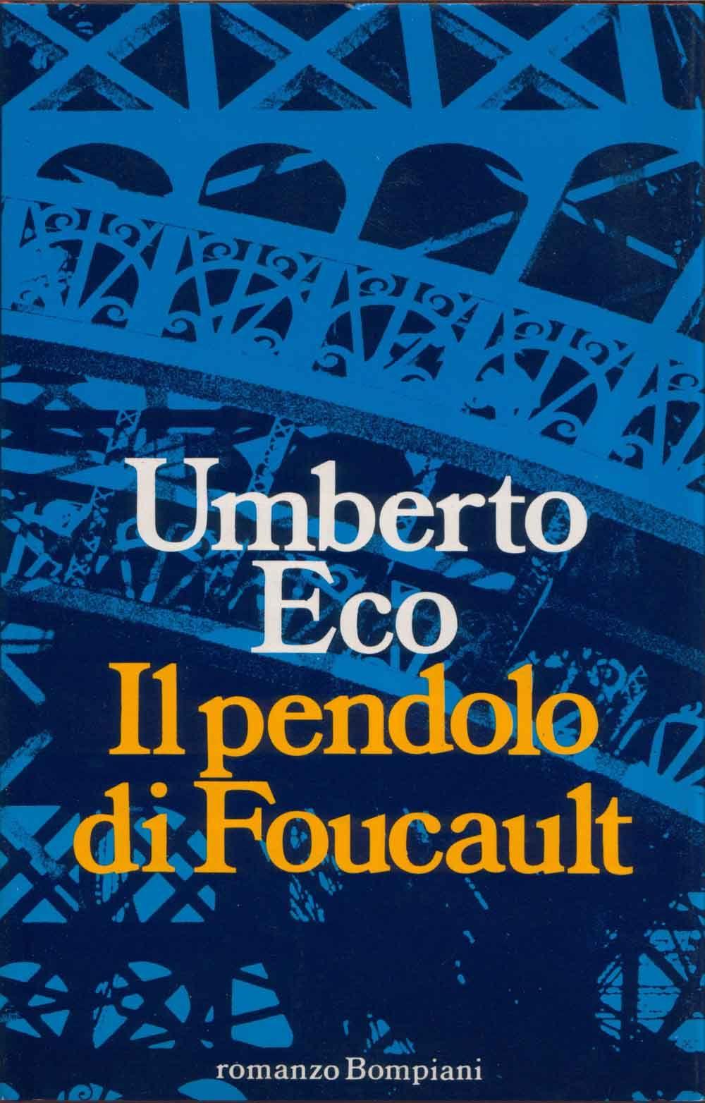 Il pendolo di foucault pendolo di foucault libri romanzi