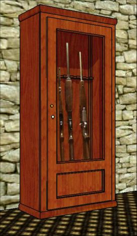 A Lot Of Guys Have Built This Gun Cabinet. Itu0027s Attractive, Sturdy And Only