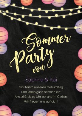 Photo of Birthday invitation card | Individually created Kaartje2go