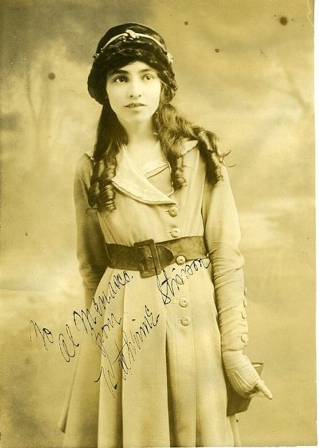 Katherine Stinson was the fourth woman in the US to hold a pilot's license   Flickr - San Diego Air & Space Museum Archives