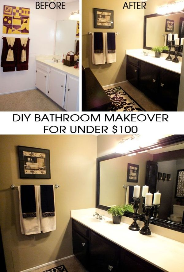 We show you how to complete a DIY Bathroom Makeover for ...