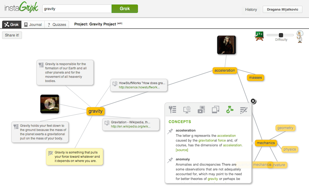 Research Any Topic With An Interactive Concept Map That You Can