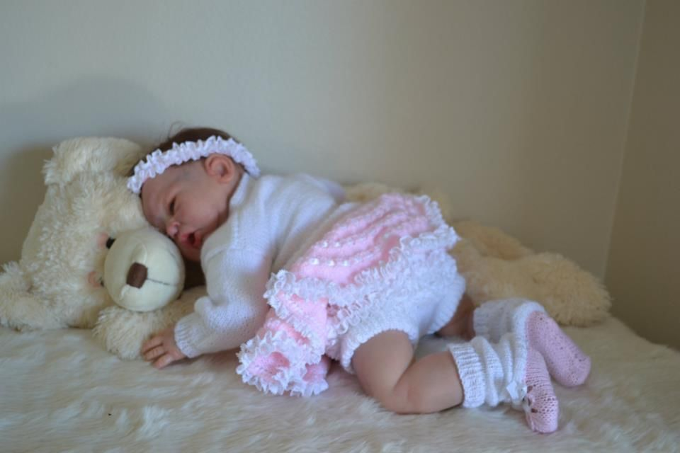 Handmade Reborn Baby Outfit.