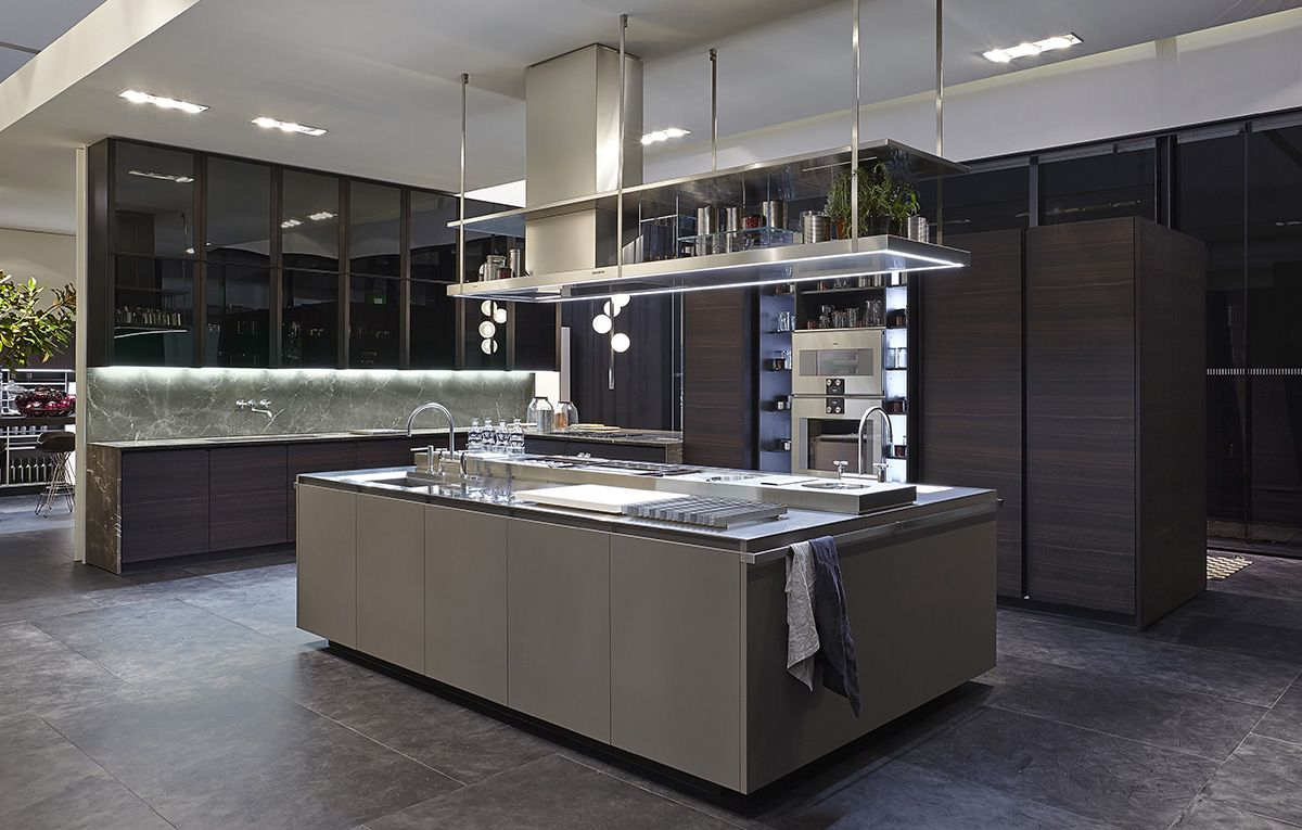 Best Varenna Booth Modern Kitchen Room Modern Kitchen 640 x 480