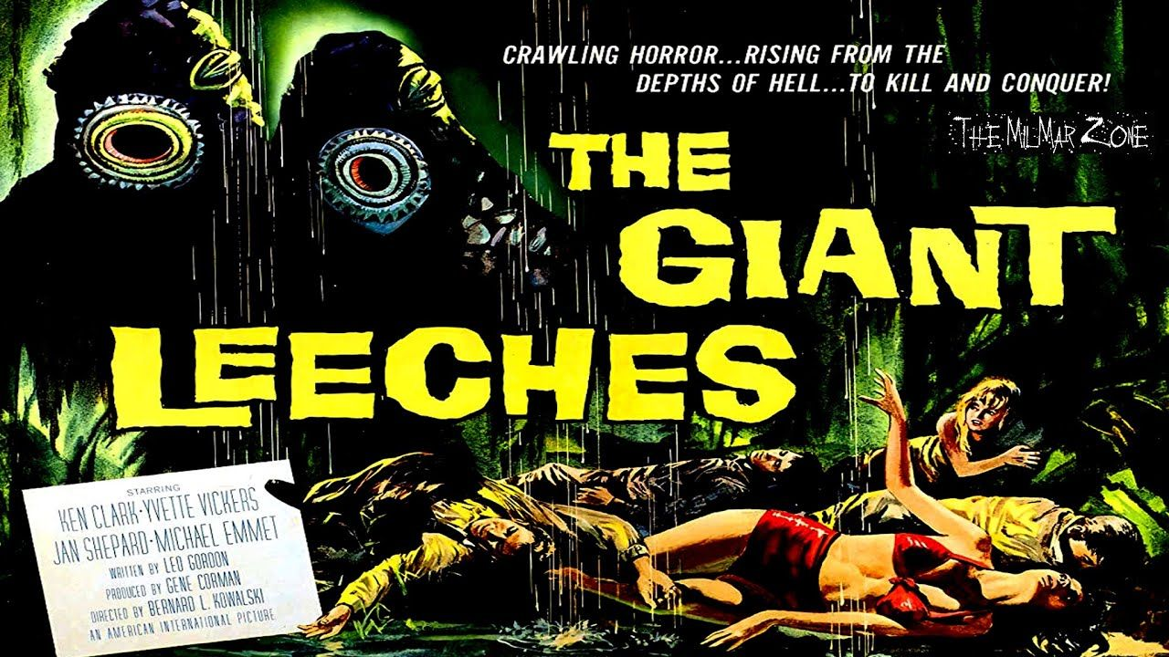 Attack of the giant leeches 1959 a scifi horror