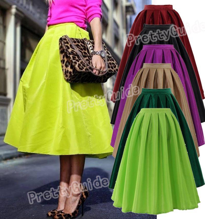 1000  images about Skirts on Pinterest | Swing skirt, Full midi ...