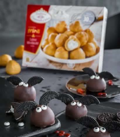 How to scary! Halloween pies and snacks to imitate -  Halloween Cake Pops bats decorated themselves