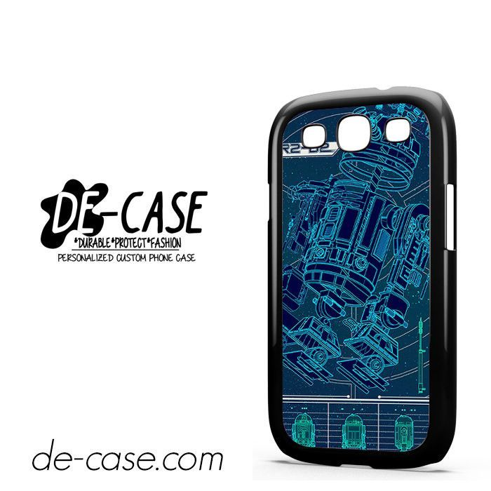 R2D2 Blue Print DEAL-9083 Samsung Phonecase Cover For Samsung Galaxy S3 / S3 Mini