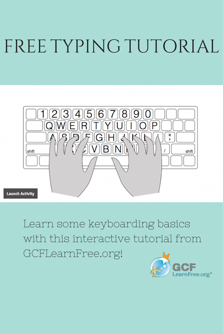 learn keyboarding basics and practice what you've learned with this