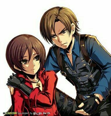 Resident Evil Leon Ada อะน เมะ ศ ลปะ
