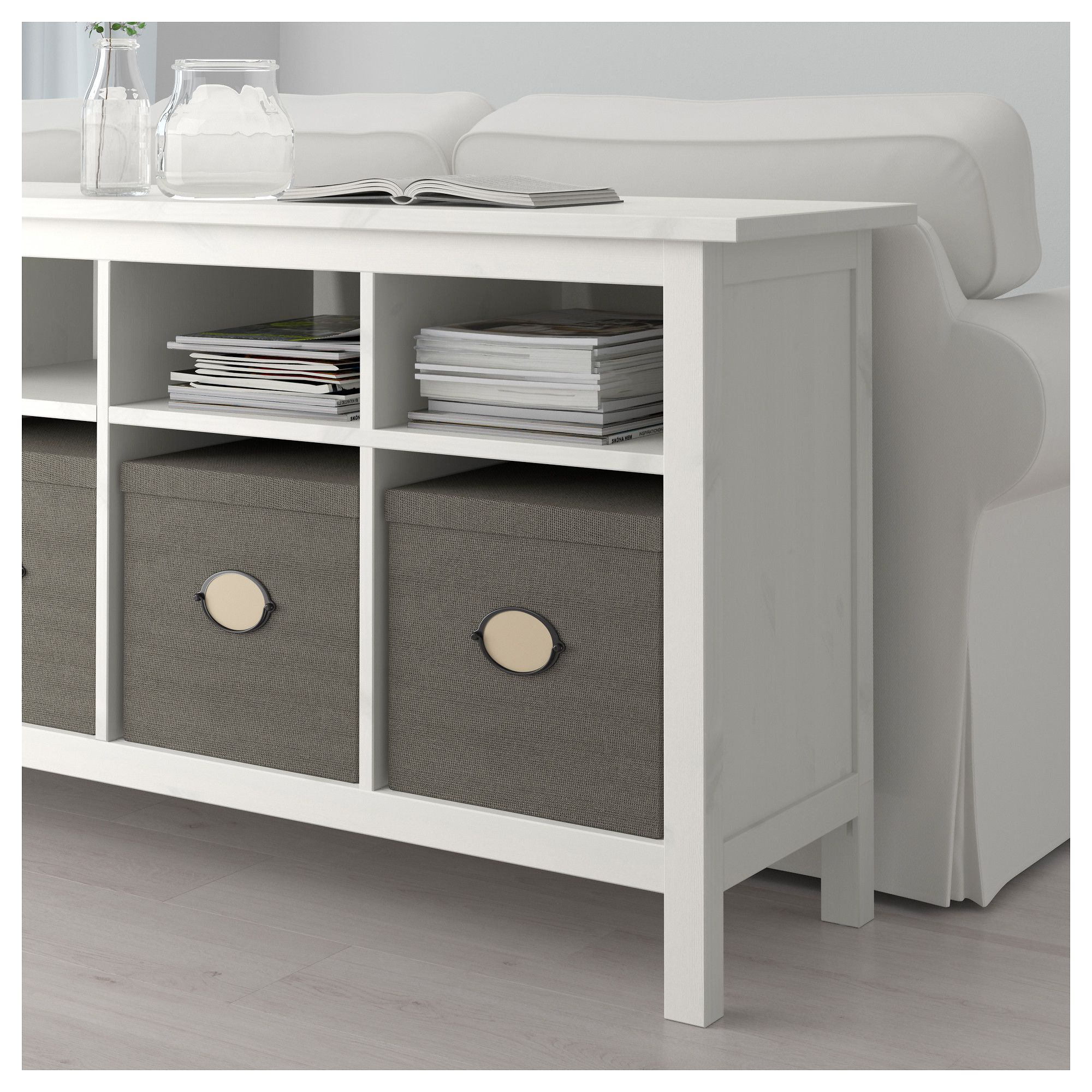 Table Console Ikea Ikea Hemnes Console Table White Stain Solid Wood Has A
