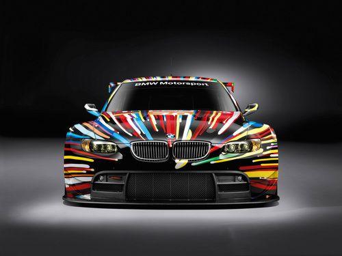..._BMW art car race