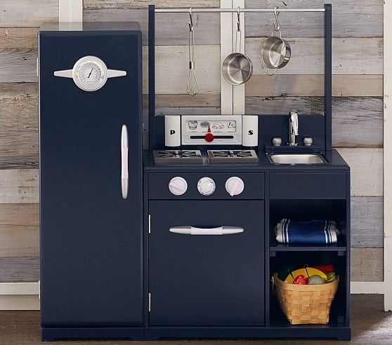 Navy All In 1 Retro Kitchen Pottery Barn Kids Titus Table