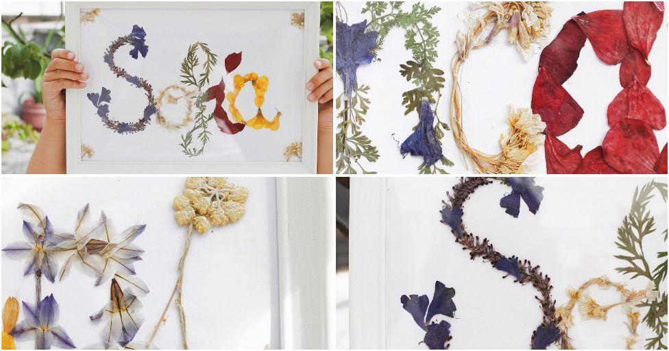 ¡Nos ha encantado esta idea! Podemos elegir nuestras flores favoritas y obtener un resultado espectacular.