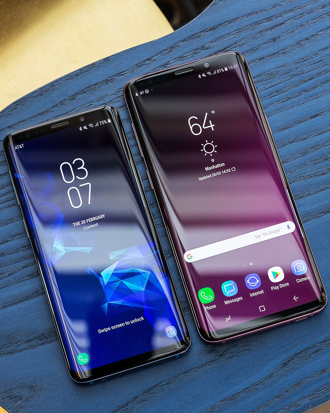 Samsung Galaxy S9 S9 Plus Galaxia