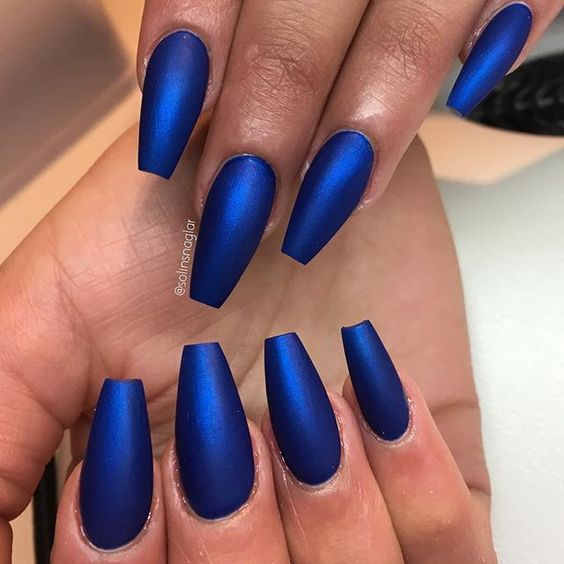 Coffin Nails Shape Are Like The Ballerina Shoes Its Elegant And Convenient Wanna Try This Fall Check Out What Kind Of Nailsart