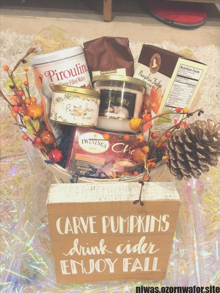 Great Pictures Fall Gifts Baskets