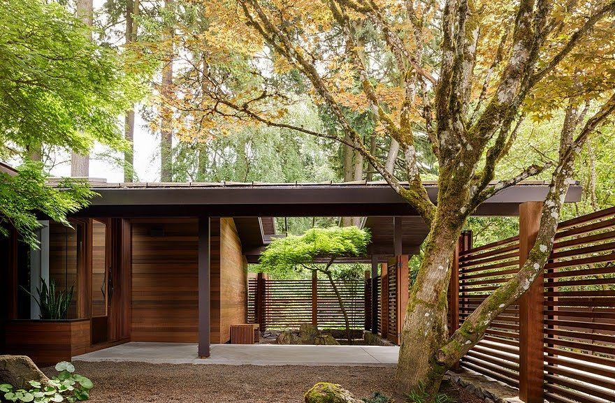 Mid-Century House Upgraded by Jessica Helgerson Interior Design ...