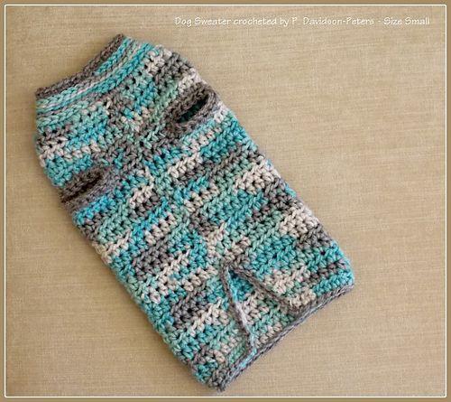 pdpeters\' Stitch 11 Dog Sweater | Tutorials, Crochet and Stitch