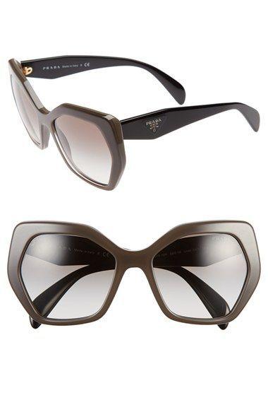 de293bab5bf Women s Prada  Heritage  56mm Sunglasses - Dark Brown