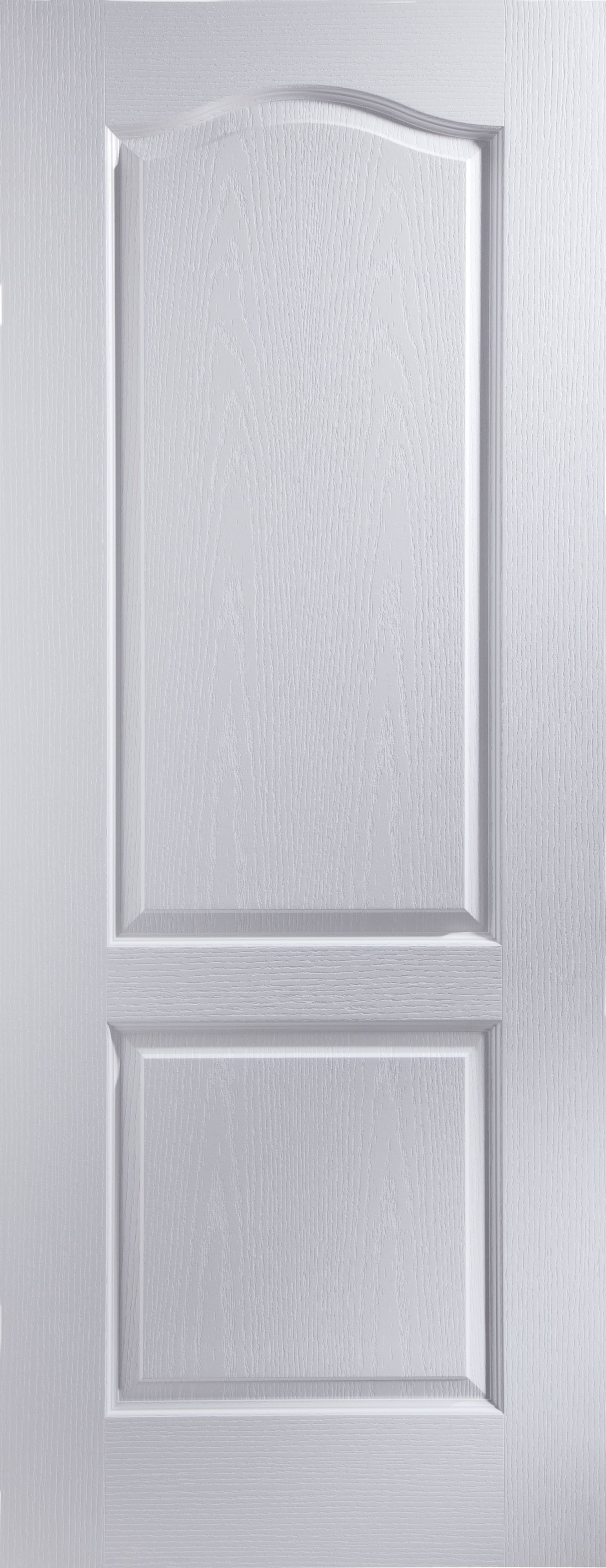 2 Panel Arched Primed Woodgrain Internal Unglazed Door (H)2040mm (W)  sc 1 st  Pinterest & 2 Panel Arched Primed Woodgrain Unglazed Internal Standard Door (H ...