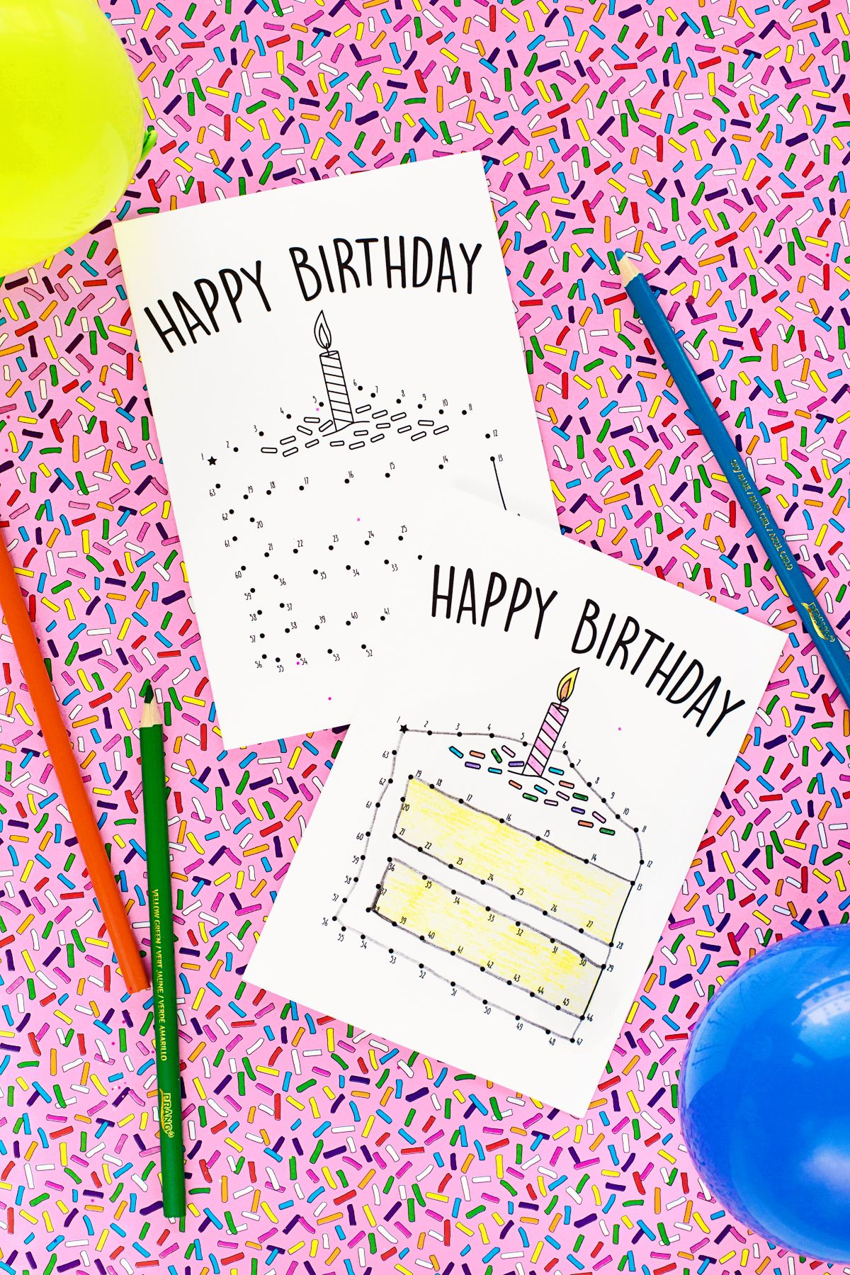 Free printable birthday cards for kids party pinterest kids