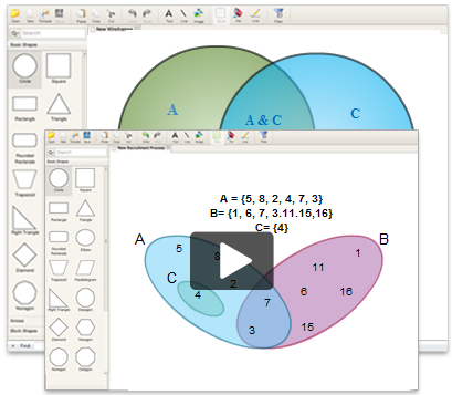Draw Venn Diagrams Online With Creately Related To Education