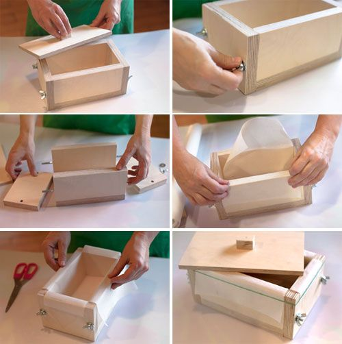 Деревянная форма для мыла своими руками