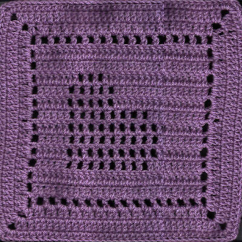 slanted heart square Tutorial ༺✿Teresa Restegui http://www ...