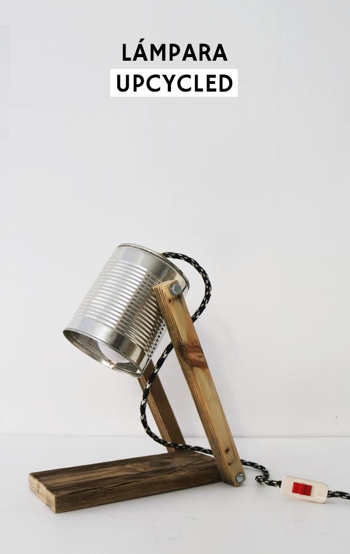 Tutorial sobre c mo hacer una l mpara reciclando una lata - Como hacer una lampara ...