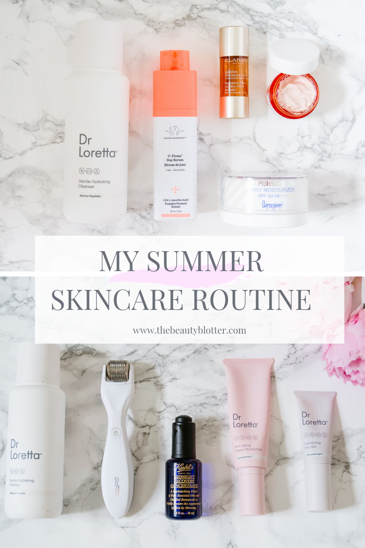 MY CURRENT SUMMER SKINCARE ROUTINE | The Beauty Blotter