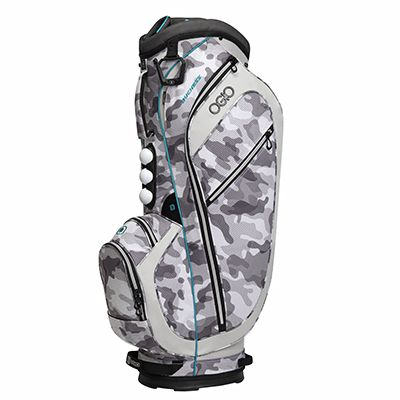 Check out what Loris Golf Shoppe has for your days on and off the golf course! Clearance Ogio Women's Duchess Golf Cart Bags - Camo / Aqua