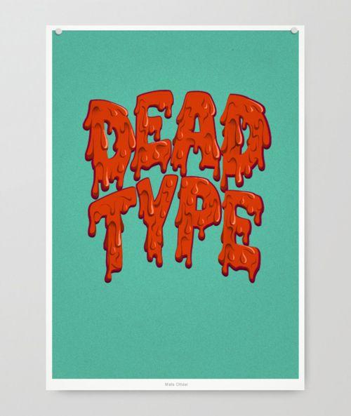 dead type