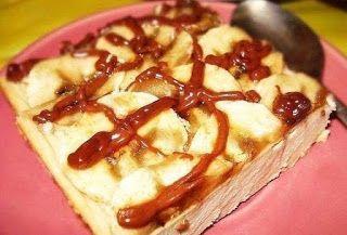 Лучшие кулинарные рецепты: Творожно-банановый десерт