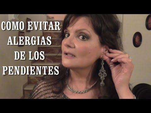 DIY EVITAR ALERGIAS DE LOS PENDIENTES(aretes, zarcillos)