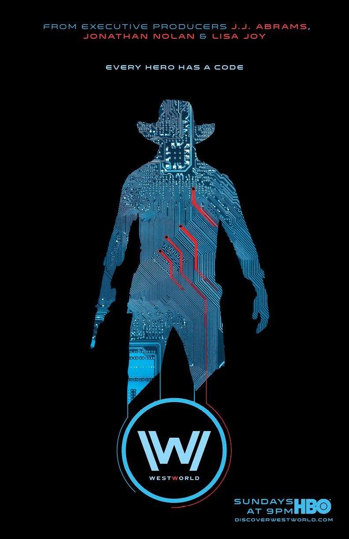 Westworld Saison 2 Streaming Vf : westworld, saison, streaming, Westworld, Circuit, Poster, Posters, Combine, Technology, Humanity, Westworld,, Series,