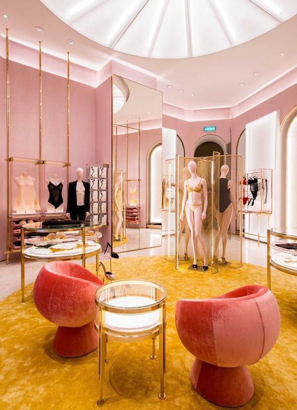 India mahdavi  architecture and design oh joy builds  house in pinterest retail interior also rh