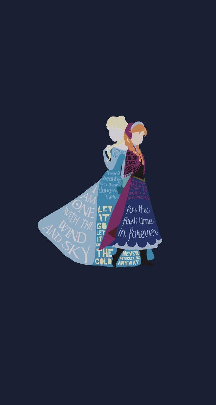 Frozen Disney Iphone 5 Wallpaper Cuz I M Disney Princess
