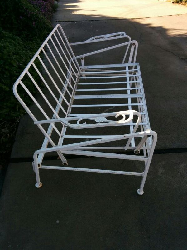 Vintage patio glider Chair   Vintage patio, Patio glider ...