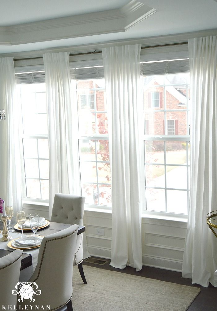 Ikea Ritva Drapes The Best Inexpensive White Curtains Dining