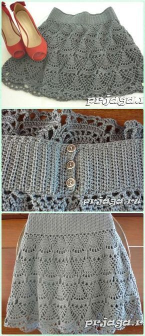 Crochet Women Skirt Free Patterns Instructions Crochet Woman