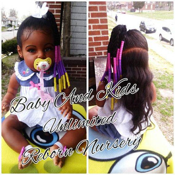 Aa Reborn Toddler Baby African American Biracial Custom Made To Order Aa Life Like Baby Reborn Baby Made From Tatiana Kit Reborn Toddler Reborn Babies Black Reborn Baby Girl