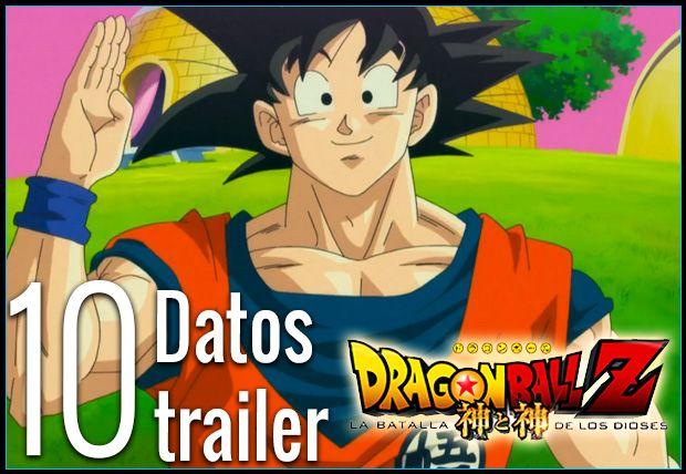 10 datos del trailer Dragon Ball Z: La batalla de los dioses | Analizamos detenidamente lo más importante del 1er avance en español de Dragon Ball Z: La batalla de los dioses.