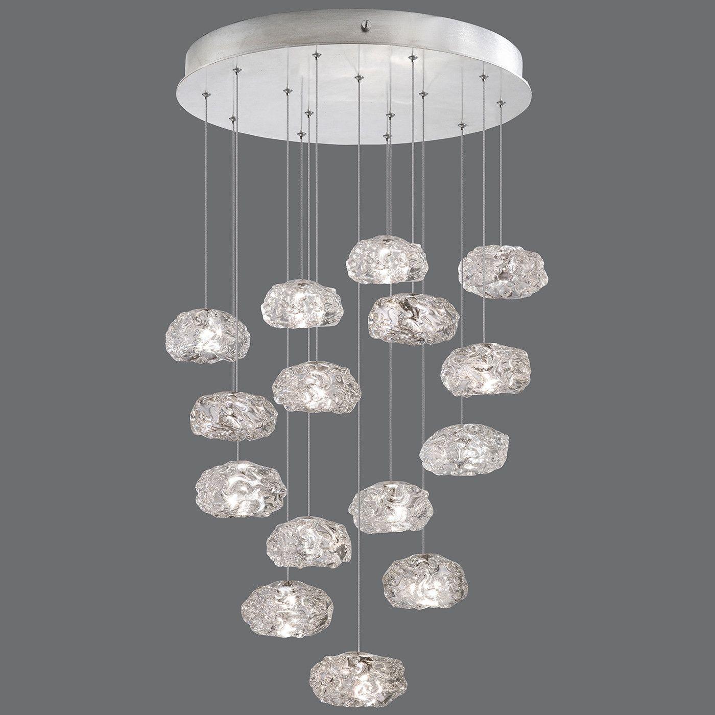 Fine art lamps natural inspirations 15 lights silver leaf chandelier fine art lamps natural inspirations 15 lights silver leaf chandelier arubaitofo Choice Image