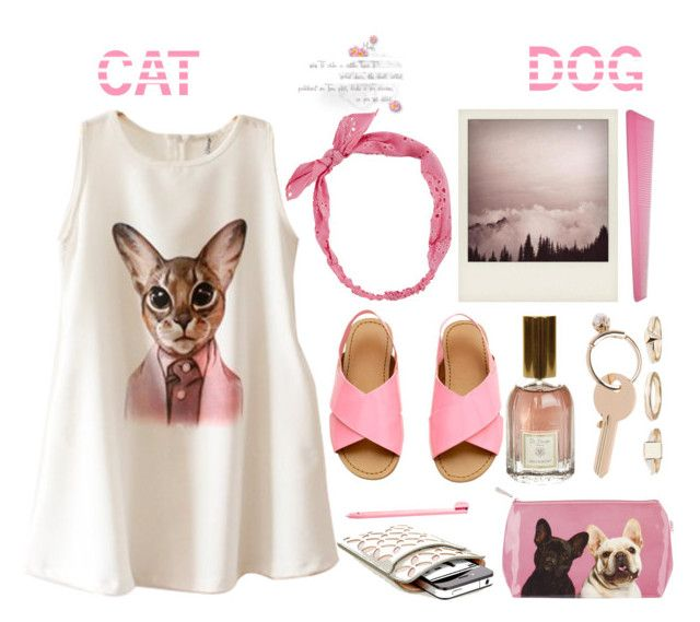 """Cat n Dog"" by emcf3548 ❤ liked on Polyvore featuring Chicnova Fashion, Catseye London, Dr. Vranjes, Nintendo, Carole, Maison Margiela, Warehouse and Alaïa"