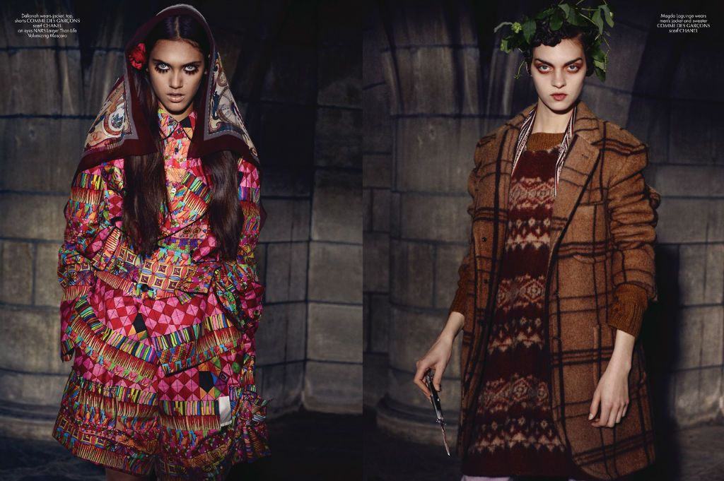 Irina Shayk for CR Fashion Book Issue 3