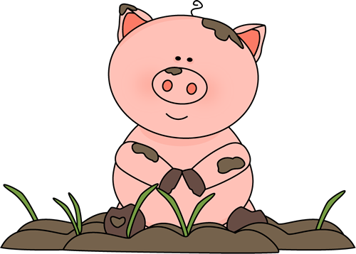 Pig In The Mud Clip Art Pig In The Mud Image Pig Pig Art Pig Pictures