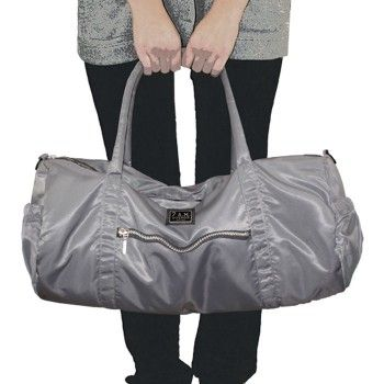 Polochon; Grape, gray, black, army and cafe are the colors! Super light and multi-functional; Diaper Bag, Gym Bag...!