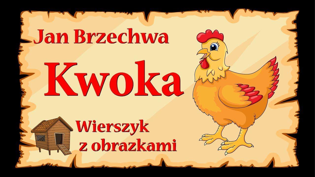 Kwoka Jan Brzechwa Animowany Wierszyk Z Obrazkami