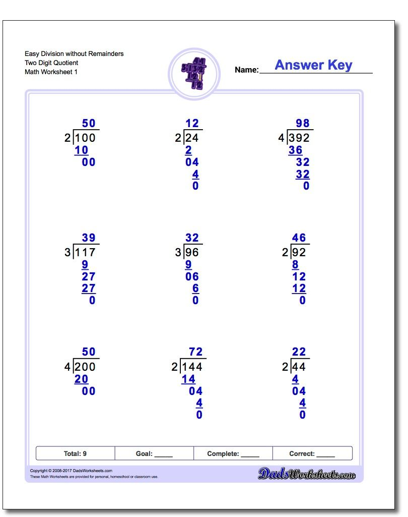 Free math worksheets for Long Division problems  https://www.dadsworksheets.com/worksheets/long-divi…   Long division  worksheets [ 1025 x 810 Pixel ]